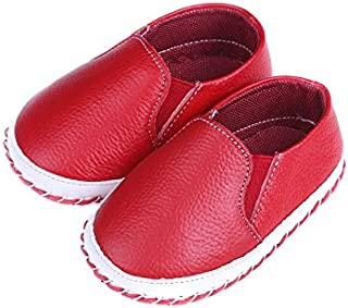 Baby Girl Boat Shoes - Red