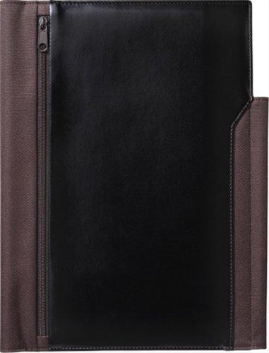 キングジム レザフェスノートカバー B5S 黒 1901LFクロ
