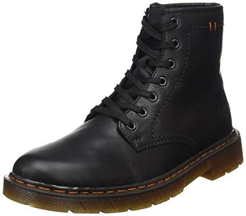 Rieker Herren 32601 Mode-Stiefel, schwarz, 47 EU