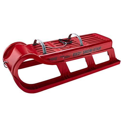 TikTakToo EKO - Snow-Star 100 Rent mit Verstärkung in rot