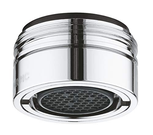 Grohe Friedrich - Aeratore per rubinetto M24X1M. 6 l/min. anti-vandalismo, Rif. 36133000