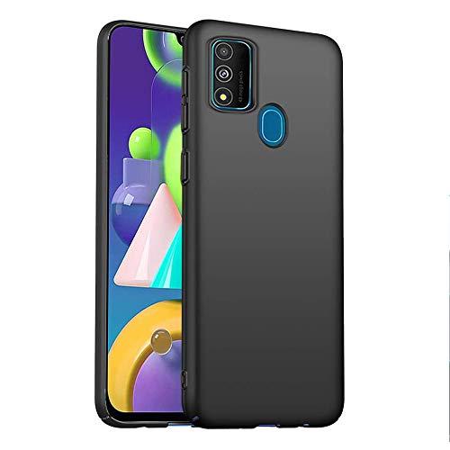 FLHTZS Hülle für Huawei P Smart 2020,Absturzsichere, staubsichere, sturzsichere Handytasche (schwarz)