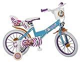 Toimsa 16220 Bicicletta Sweet Fantasy 5-8 Anni 16220 Multicolore
