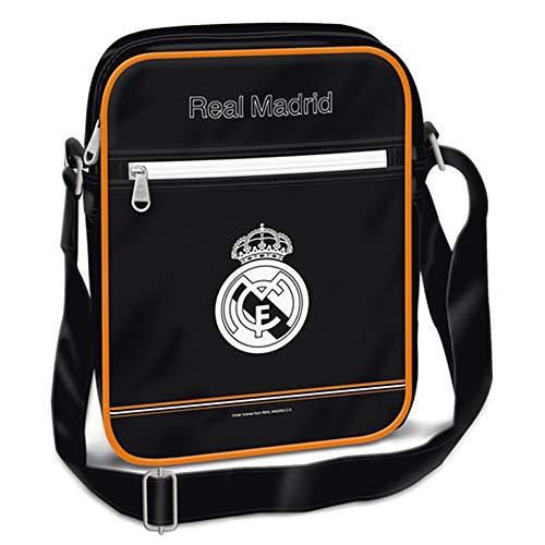 Real Madrid - Bolso Bandolera de Piel sintética
