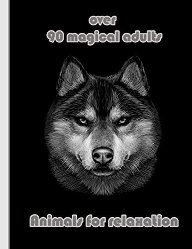 over 90 magical adults Animals for relaxation An Adult Coloring Book with Lions Elephants Owls product image