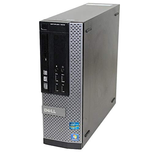 Windows 10 Dell 7010 SFF Quad Core i5-3470 - 8GB DDR3-500GB HDD - HDMI - DVDRW (Renewed)