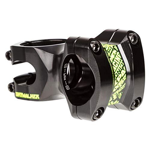 SixPack Racing Skywalker | 50mm Farbe Vorbau MTB Unisex Erwachsene, schwarz/Neongelb