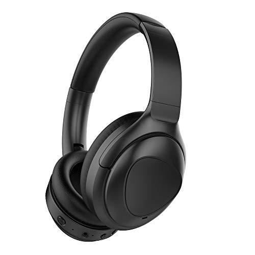 Puro Sound Labs: PuroPro - Cuffie ibride con limitazione del volume e cancellazione attiva del rumore, Bluetooth wireless over-ear, 32 ore di riproduzione, per i viaggi, l'ufficio e la casa