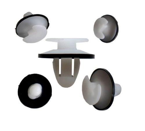 myshopx C26 Befestigung Clips Türverkleidung Klammern Stoßstangen Befestigung Clips Stoßfänger Zierleiste Radlauf Plastik Nieten Schlagniete Druckniete