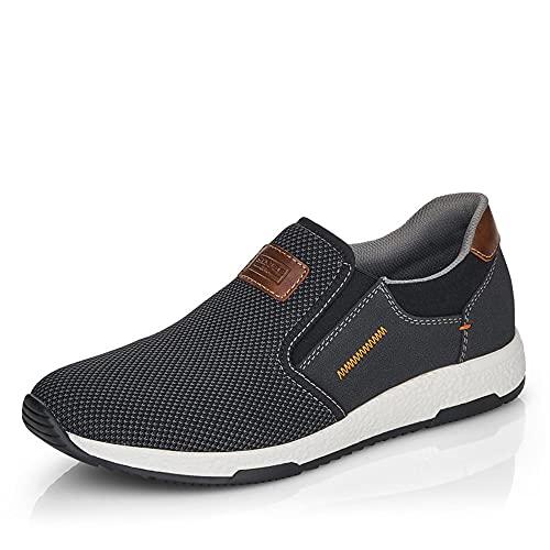 Rieker Herren B3450 Sneaker, schwarz/00, 44 EU