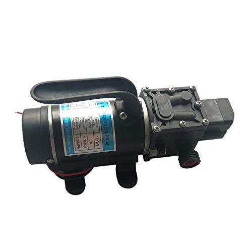 CUHAWUDBA EléCtrico 12V 120W 130Psi 10L / Min PelíCula de Agua Bomba Autocebante de Alta PresióN Interruptor AutomáTico Bomba de Retorno para JardíN