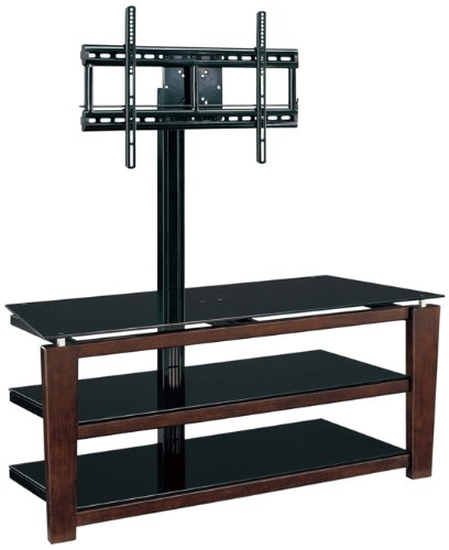 Whalen Furniture 133-in-13 Flat Panel TV Stand and Entertainment Console,  13-Inch