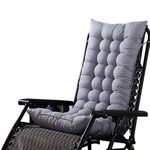 OLEEKA Cojín de Asiento Suave para Tumbona Sillón reclinable Silla Gruesa Alfombrilla de Tatami Universal sólida Sofá Cojines de Dormitorio Decoración para el hogar