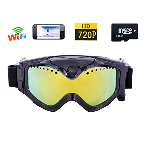 HD Ski-Google Goggles Kleurrijke Dubbele WIFI Sport Camera 720P Anti-Fog Lens voor Ski met APP Live Image Video Monitoring