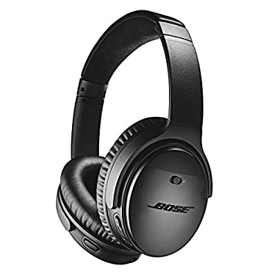 Bose QuietComfort 35 (Series II) Wireless Headphones, Noise Cancelling with Alexa built-in - Black by Bose Corporation