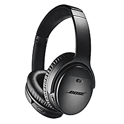 Gifts for authors black Bose noise-cancelling headphones