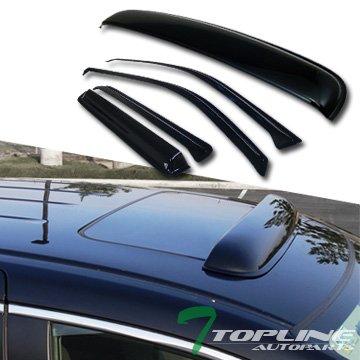 04 trailblazer vent visors - 7