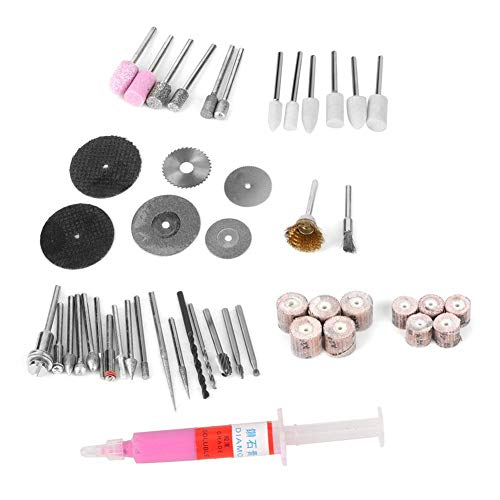 Electric Grinder Accessory Set, Abrasive Tool, Durable Polishing High Abrasion Resistance for Pneumatic Manual Grinding Machines Electric Engraving Kit