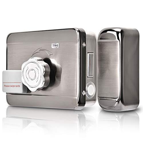 Cerradura Inteligente Invisible, Interruptor de Puerta de Control de Acceso, Sistema Inteligente de Control de Acceso de Puerta,Tarjeta RFID Control de Acceso de Puerta Para Apartamentos/Hogar