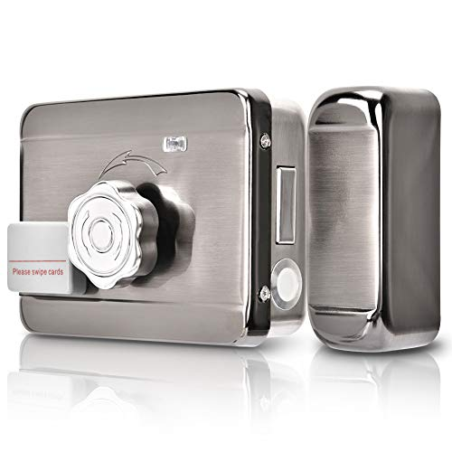 Cerradura Inteligente Invisible, Interruptor de Puerta de Control de Acceso, Sistema Inteligente de Control de Acceso de Puerta,Tarjeta RFID Control de Acceso de Puerta Para Apartamentos/Hogares/Hotel