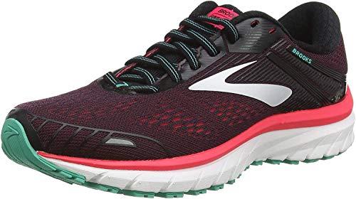 Brooks Defyance 11, Zapatillas para Correr Mujer, Black/Pink/Green, 44.5 EU