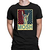 Free Will Shirts Mens Metal Music T-Shirt Mosh Black