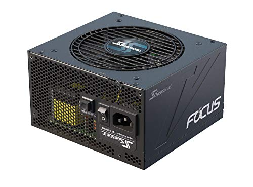 Seasonic FOCUS GX-550, 550W, Full-Modular, Fan Control in Fanless, Silent, and Cooling Mode, Perfect Power Supply for Gaming and Various Application, SSR-550FX.