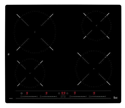 Teka 10210160 kookplaat (elektro/inbouw) / 4 kookplaten / 51,0 cm/restwarmte-indicator