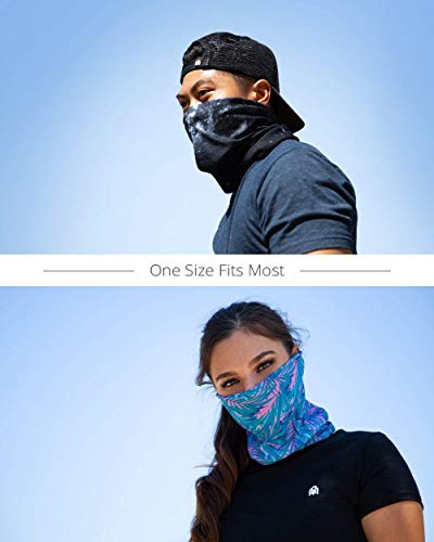 Team Electric Breathable Neck Gaiter Masks Half Face Cover Wrap Cool Mask Bandana Festival Rave Balaclava Scarf INTO THE AM