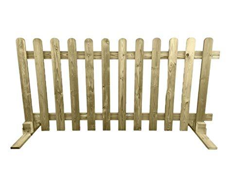 Luxury Planed Freestanding Picket Fence Panels 6X3 6X4 6x6 - Bulk Deal (25, 6ft x 3ft)