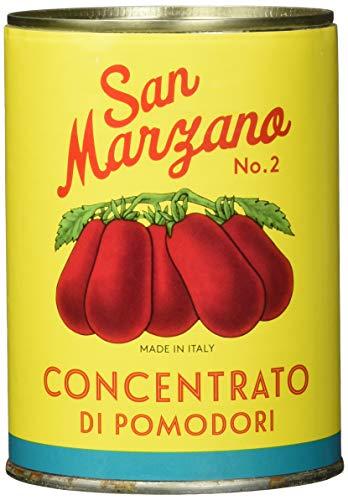 Il pomodoro più buono Concentrato di pomodoro San Marzano Vintage, Tomatenmark aus Tomaten, 2er Pack (2 x 400 g)