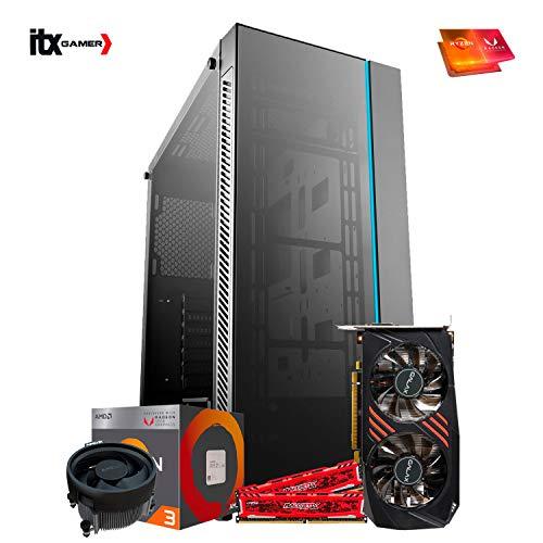 Pc Gamer Amd Ryzen 5 3400G, B350, GTX 1050Ti 4gb, 8GB, HD 1TB - RGB