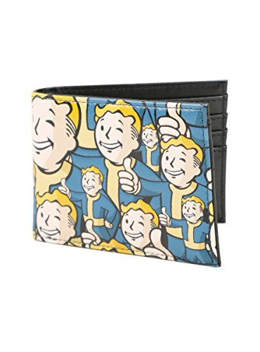 Fallout Vault Boy Print Bi-Fold Wallet