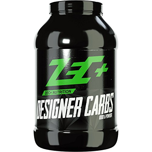 ZEC+ Designer Carbs 1000g, Kohlenhydratpulver, Kohlenhydrate mit Cluster Dextrin® & Maisstärke