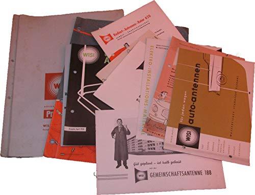 Konvolut Prospekte Deutsche Industrie-Messe Hannover 1959