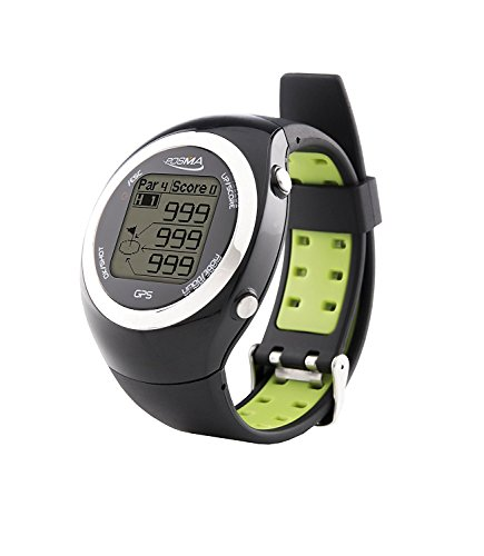 IDS Home POSMA GT2 Golf Watch with GPS, Golf Rangefinder Activity Tracker Watches, Preloaded Golf Courses, No Download - Green