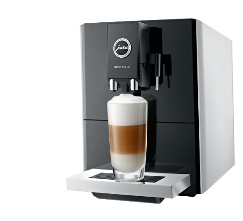 Jura Impressa A5 One Touch Coffee Machine, 1450 Watt, 15 Bar, Platinum