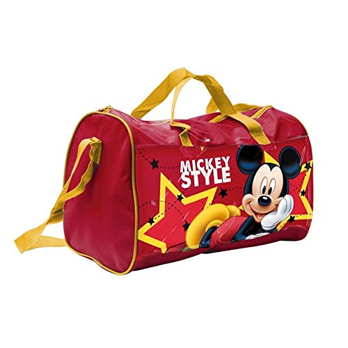 SAC Mickey Mouse Disney DE Voyage OU DE Gym pour Enfant CM. 38X20 H.23 - 57886