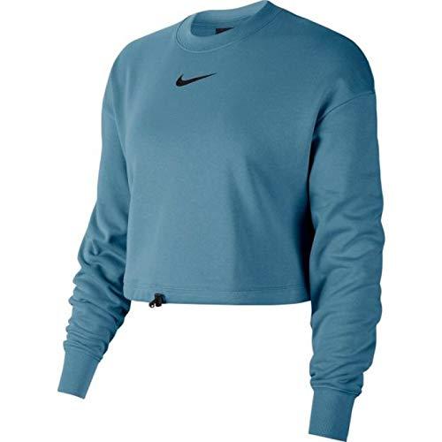 Nike Sportswear Swoosh Langarmpullover, blau, S