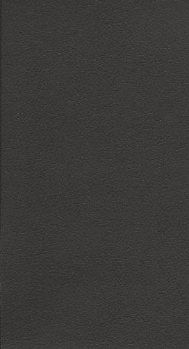 PU Möbel Stoff Leder Kunstleder Polster Meterware Stuhl Couch Farbe wählbar (schwarz)