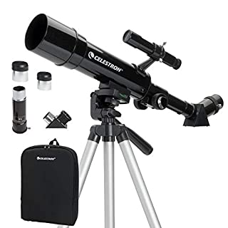 Celestron Travel Scope 50 - Telescopio portable con ampliación de 18x, longitud focal 36 cm, color negro, abertura de 50 mm (B00369Q4ZC) | Amazon price tracker / tracking, Amazon price history charts, Amazon price watches, Amazon price drop alerts
