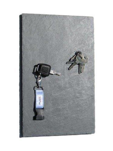 Schiefer-Magnet-Schlüsselboard in 40 cm x 25 cm, statt Schlüsselkasten