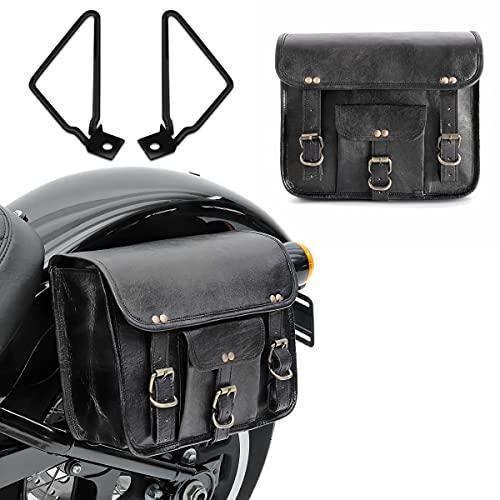 Bolsas alforjas SVS + Soportes para Moto Guzzi V7 III Racer/Stone