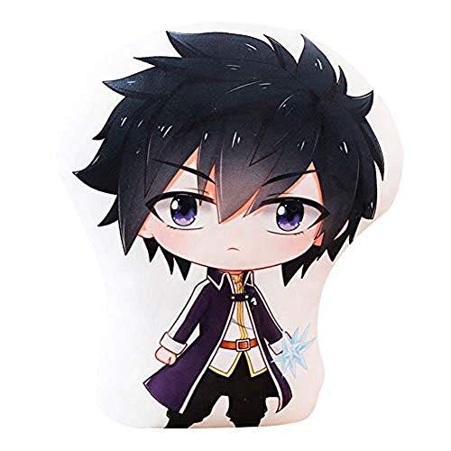 YOLEOLY Anime cadeau, cadeau d'anime, cadeau de cosplay, coussin de queue de fée CSEW-6560 20,3 cm Super Kawaii personnages en peluche jouet pour décoration de canapé