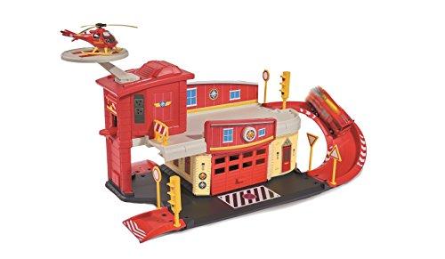Dickie - 203099623038 - Sam le Pompier Centre de Secours avec Hélicoptère Inclus