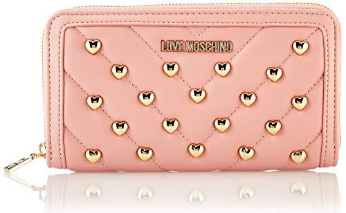 Love Moschino Damen Jc5626pp0a Geldbeutel, Pink (Powder), 2.5x10x19 Centimeters