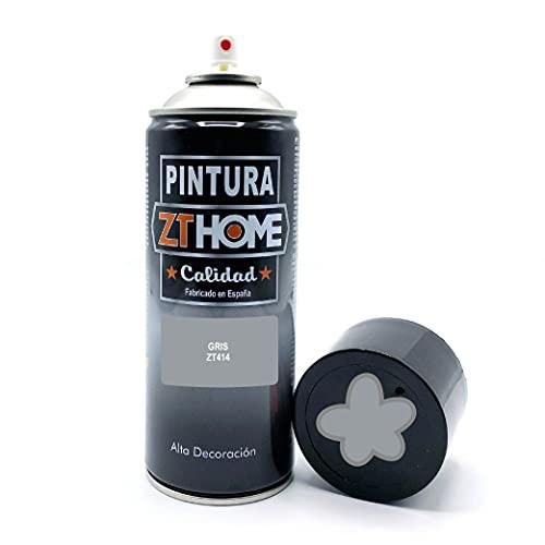 Pintura Spray Gris 400ml imprimacion para madera, metal, ceramica, plasticos / Pinta todo tipo de cosas y superficies Radiadores, bicicleta, coche, plasticos, microondas, graffiti RAL 7040