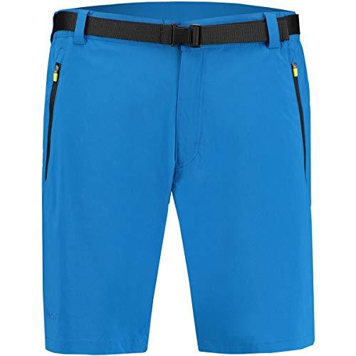 Meru Herren Franz Bermuda Shorts, Blue, XXL