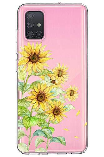 Oihxse Cristal Funda para Samsung Galaxy S7 Edge/G9350 Transparente Suave TPU Flores...