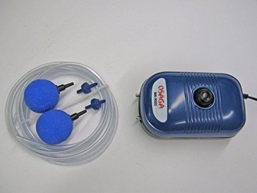 Osaga Durchlüfter-Set-2 MK-9502, 5 Watt, regelbar